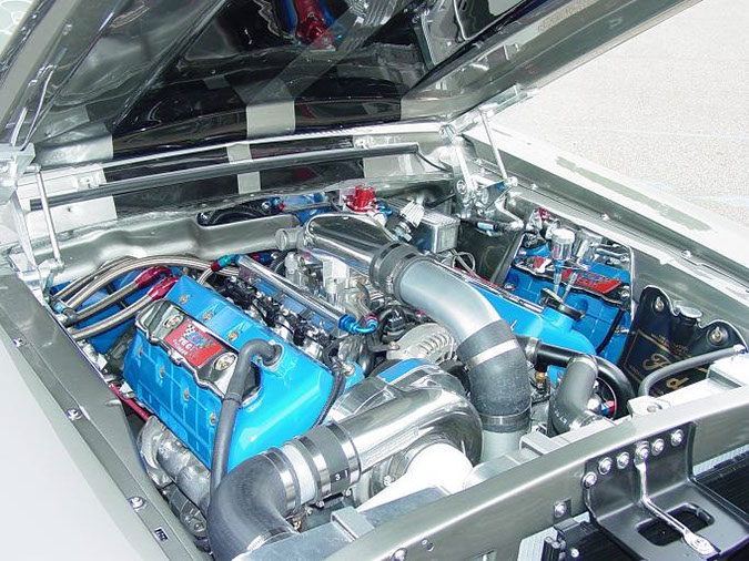 1967 Eleanor E 012: ford motor company technology